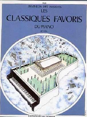 Classiques Favoris Volume 8 Partition Piano - laflutedepan