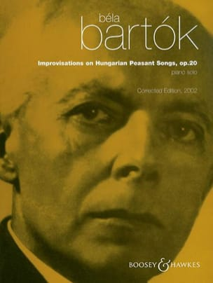 BARTOK - Opus 20 improvisations on Hungarian Peasant Songs - Partition - di-arezzo.co.uk