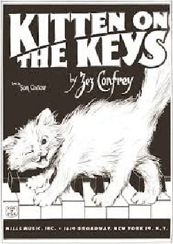 Kitten On The Keys Zez Confrey Partition Piano - laflutedepan