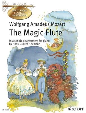 The Magic Flute MOZART Partition Piano - laflutedepan