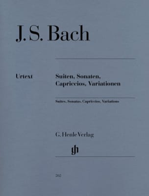 Suites, Sonates, Capriccios et Variations BACH Partition laflutedepan