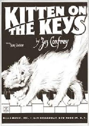 Kitten On The Keys - Zez Confrey - Partition - laflutedepan.com