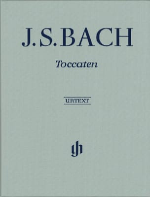 Toccatas - Edition Reliée BACH Partition Piano - laflutedepan