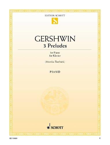 3 Préludes - GERSHWIN - Partition - Piano - laflutedepan.com