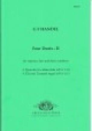 4 Duets Volume 2 - HAENDEL - Partition - Duos - laflutedepan.com