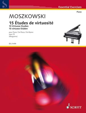 15 Etudes de Virtuosité Opus 72 Moritz Moszkowski laflutedepan