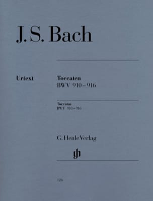 BACH - toccata - Partition - di-arezzo.co.uk