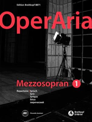 - OperAria Mezzo-Soprano - Volume 1 - Partition - di-arezzo.co.uk
