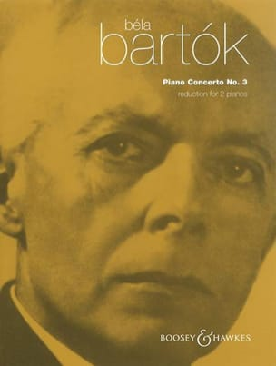 Concerto pour piano n° 3 BARTOK Partition Piano - laflutedepan