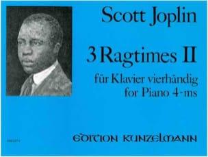3 Ragtimes Volume 2. 4 Mains JOPLIN Partition Piano - laflutedepan