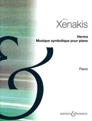 Herma. XENAKIS Partition Piano - laflutedepan