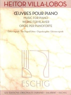 Oeuvres pour piano - VILLA-LOBOS - Partition - laflutedepan.com
