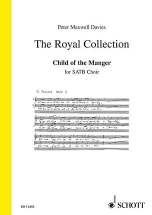Child Of The Manger - Davies Peter (Sir) Maxwell - laflutedepan.com
