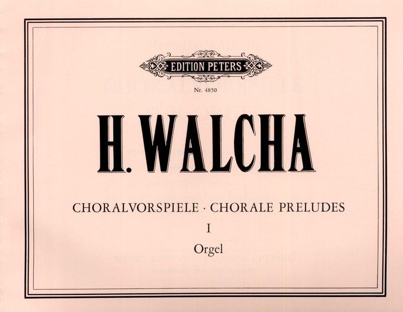 Choralvorspiele Volume 1 - Helmut Walcha - laflutedepan.com