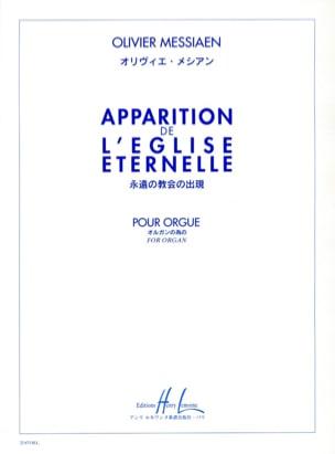 Apparition De L' Eglise Eternelle - MESSIAEN - laflutedepan.com