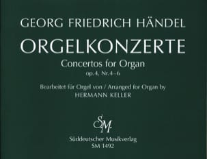 Concertos Opus 4 Volume 2 HAENDEL Partition Orgue - laflutedepan
