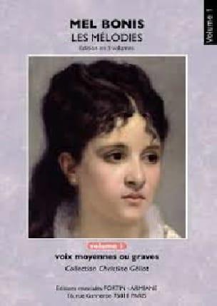 Mélodies. Volume 1 - Mel Bonis - Partition - laflutedepan.com