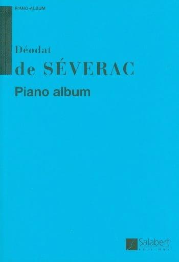 Piano Album - Déodat de Séverac - Partition - Piano - laflutedepan.com