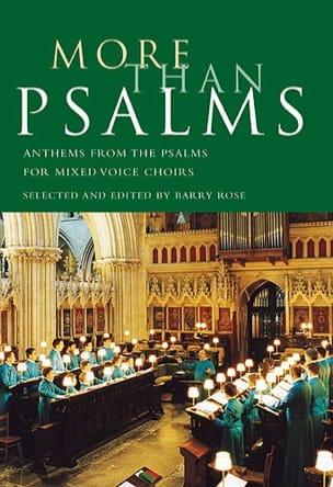 More Than Psalms Partition Chœur - laflutedepan