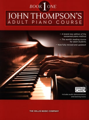 John Thompson - Adult piano method. Volume 1 - Partition - di-arezzo.co.uk