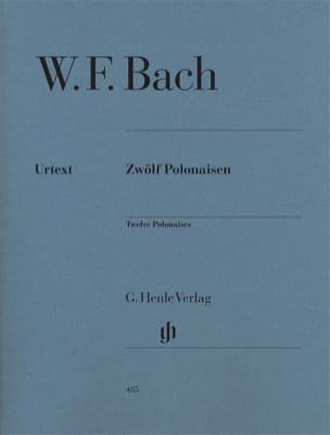 12 Polonaises Wilhelm Friedemann Bach Partition Piano - laflutedepan