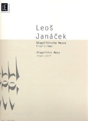 Glagolitische Messe. Partie d'Orgue - JANACEK - laflutedepan.com
