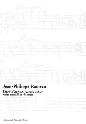 Livre D'orgue 1er Cahier - RAMEAU - Partition - laflutedepan.com