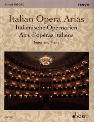Airs d'Opéras Italiens. Ténor Partition Recueils - laflutedepan