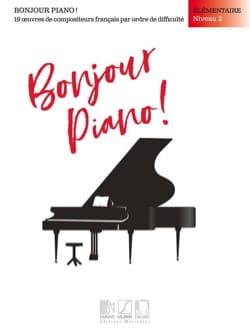 Bonjour Piano! Elémentaire Niveau 2 Partition Piano - laflutedepan