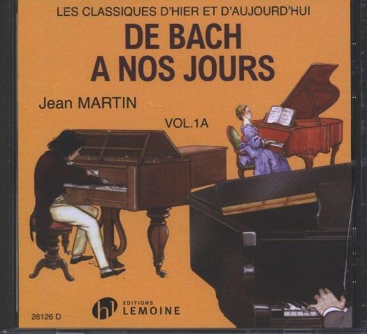 de Bach à nos Jours - Volume 1A - CD - laflutedepan.be