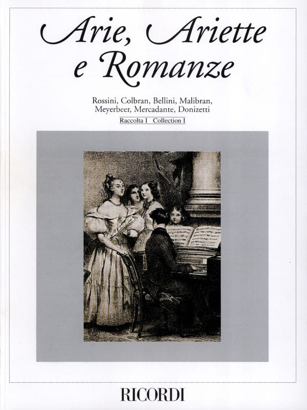 Arie, Ariette e Romanze - Partition - Mélodies - laflutedepan.com