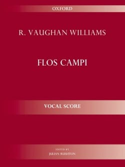 Flos Campi WILLIAMS VAUGHAN Partition Chœur - laflutedepan