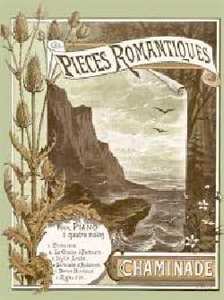 Pièces romantiques. 4 mains - Chaminade Cécile - laflutedepan.com