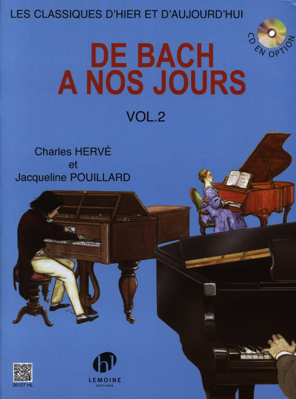 de Bach à nos Jours - Volume 2A - laflutedepan.be