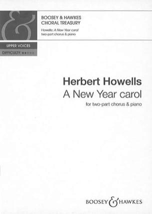 A New Year Carol - Herbert Howells - Partition - laflutedepan.com
