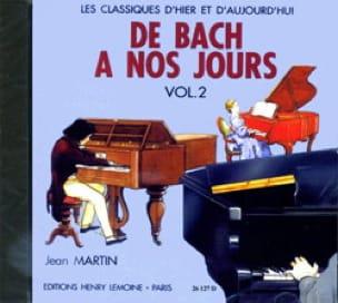 de Bach à nos Jours - Volume 2A - CD - laflutedepan.com