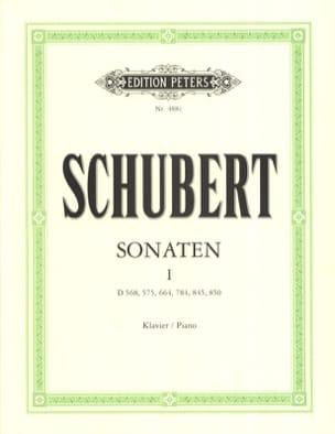 Sonates Volume 1 SCHUBERT Partition Piano - laflutedepan