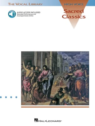 Sacred Classics. Voix haute Partition Mélodies - laflutedepan