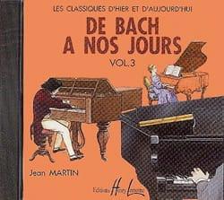 de Bach à nos Jours - Volume 3A - CD DE BACH A NOS JOURS laflutedepan