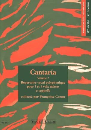 Cantaria Volume 2 Partition Chœur - laflutedepan