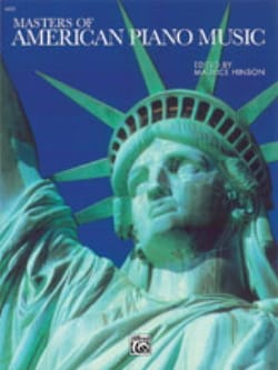 Masters Of American Piano Music Partition Piano - laflutedepan