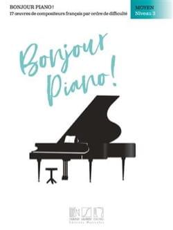 Bonjour Piano! Moyen Niveau 3 - Partition - laflutedepan.com