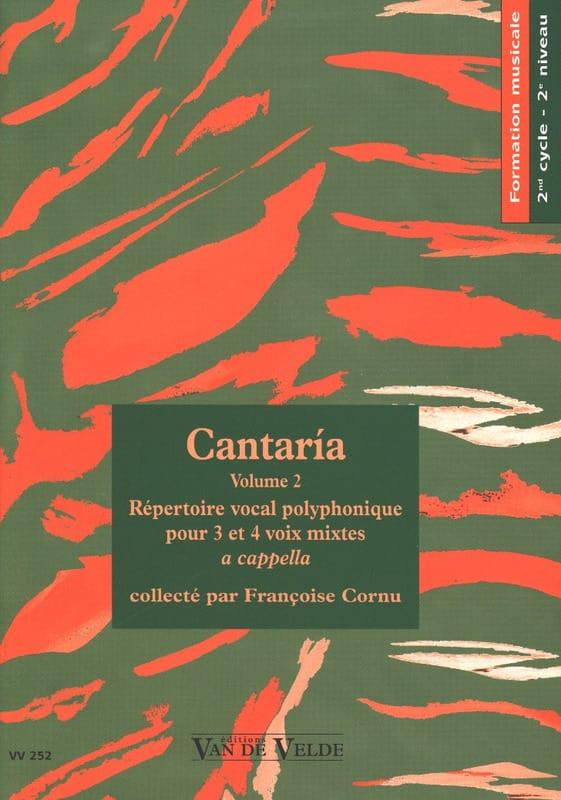 Cantaria Volume 2 - Partition - Chœur - laflutedepan.com