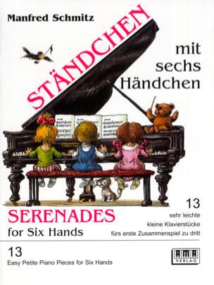 Berceuses à 6 Mains Manfred Schmitz Partition Piano - laflutedepan