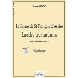 Laudes Creaturarum Lionel Rogg Partition laflutedepan