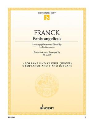 Panis Angelicus FRANCK Partition Duos - laflutedepan