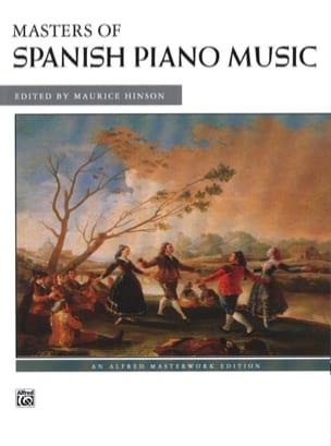 Masters Of Spanish Piano Music - Partition - laflutedepan.com
