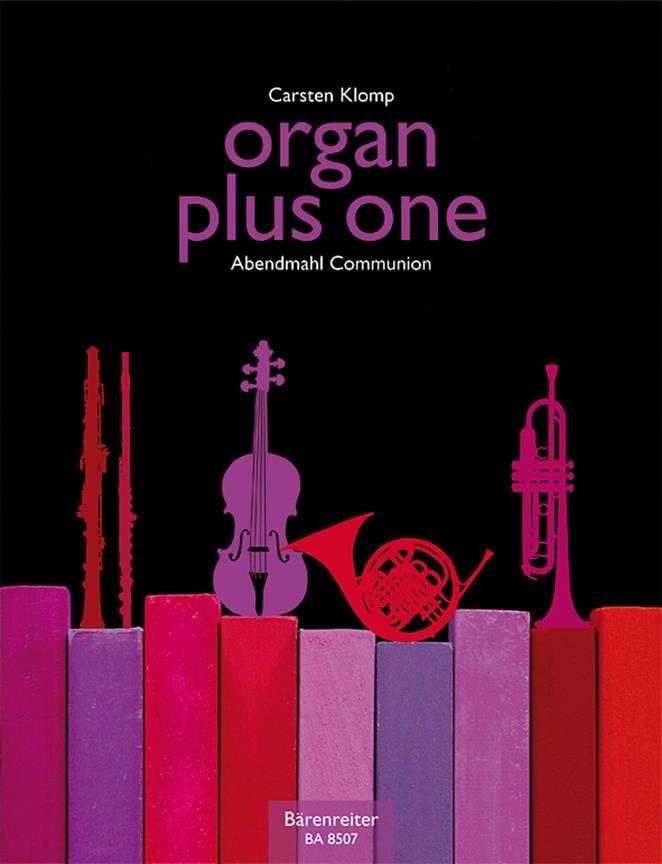 Organ plus one. Communion - Carsten Klomp - laflutedepan.com