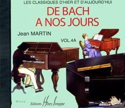 de Bach à nos Jours - Volume 4A - CD DE BACH A NOS JOURS laflutedepan