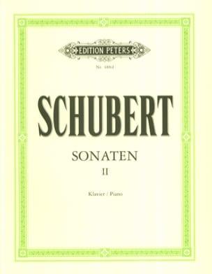 Sonates Volume 2 SCHUBERT Partition Piano - laflutedepan